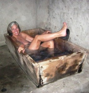 Did I mention the hot stone bath?