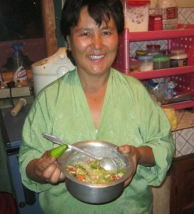 Mama Tshering and the National dish ~ Ema Datsi