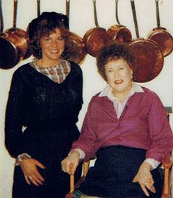 Susanne Wilder and Chef Julia Child
