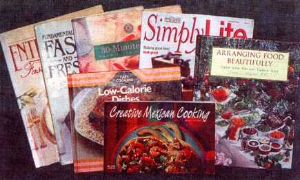 Previous cookbooks!