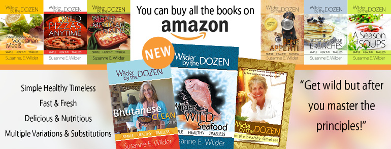 Wilder by the dozen cookbooks